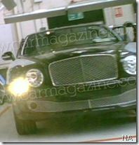 BentleyArnage2010spyphoto7