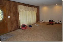 libing room before