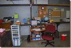 computer work area