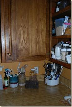 inside cabinet door