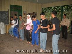 Sanggar Seni Seroja Latihan Tari Somba Cerano di SMAN Pintar Kuansing