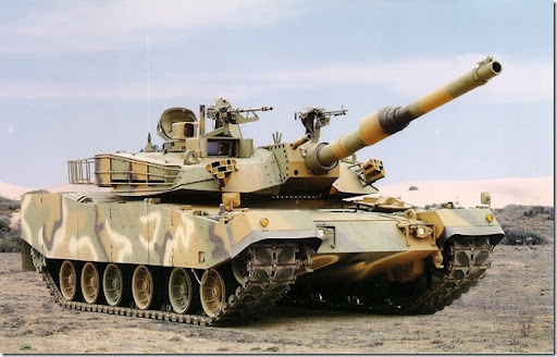 K1A1_Main_Battle_Tank