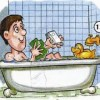 take%20a%20bath Everyday Activities people english through pictures