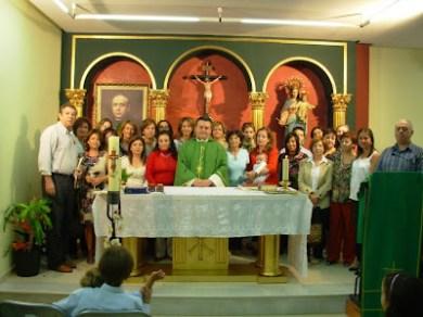 Misa del envío de catequistas 2010