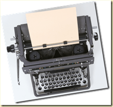 Harry's typewriter