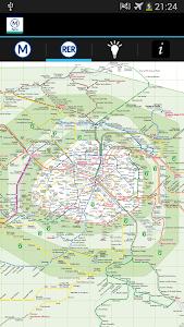 Metro Map Paris - Map and Tips screenshot 3