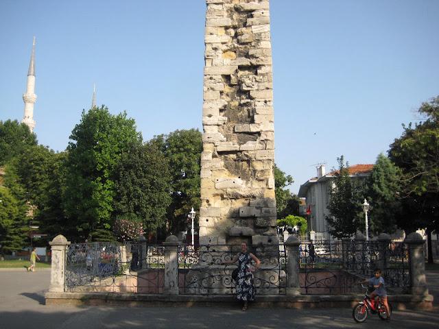The brazen column