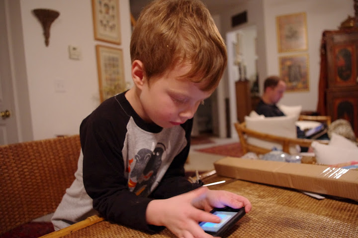 He rearranged the icons on Grandma's iTouch and she almost didn't forgive him!