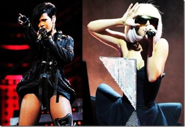 Lady Gaga e Rihanna