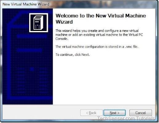 2New Virtual Machine Wizard