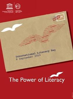 El poder de l'alfabetització