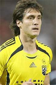 20 Octoboer 2007: Columbus's Guillermo Barros Schelotto (ARG).  The Columbus Crew defeated DC United 3-2 at RFK Stadium in Washington, DC in a Major League Soccer 2007 regular season game.