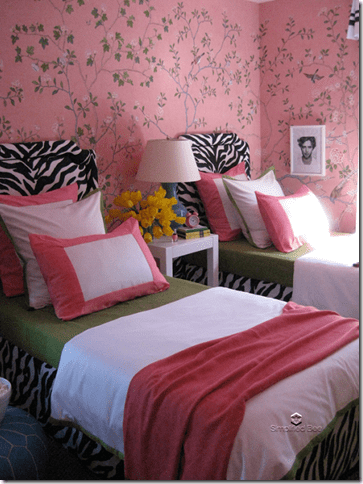 Elle Decor Showhouse Grant Gibson Tween Bedroom
