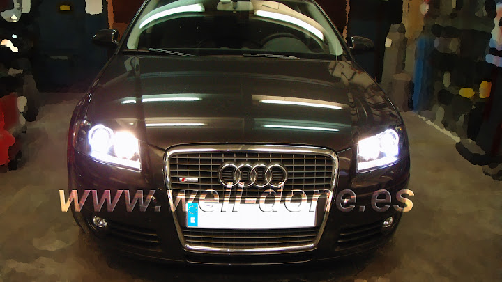Audi A38P Kit Xenon welldone well-done H7