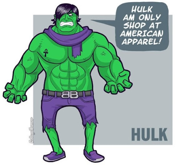 Hulk Capris