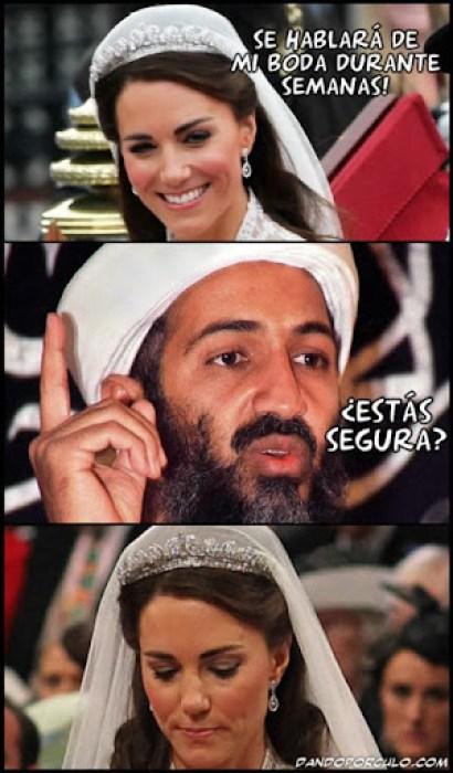 Kate y Osama