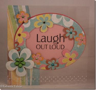 clear floral card