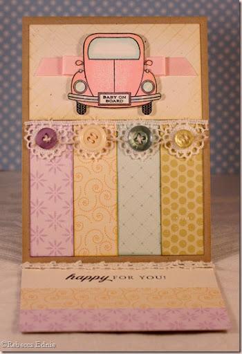 PTI car baby card