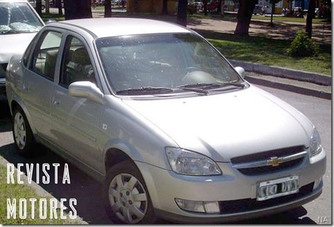 Chevrolet Classic na Argentina ds