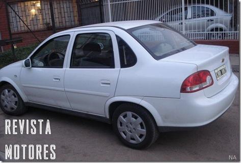 Chevrolet Classic na Argentina f
