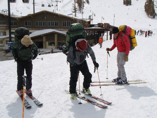 The trip started from Mammoth Mountain Ski Resort   Photo Sung Byun