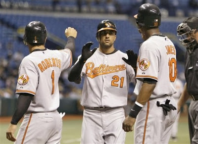 My three favorite Orioles are on my three fantasy teams.  I heart my Os!