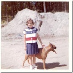 Caron Nov 1963 with Ginger