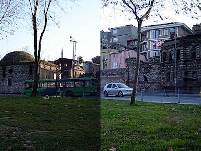 турция истанбул стени златният рог