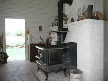 Outbuilding stove