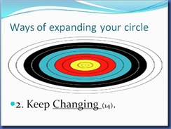 Expanding Your Circle 8