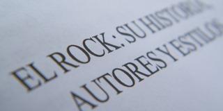 El rock, su historia autores y estilos