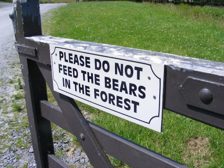 People in Wales seem to have a great sense of humour. Wed also seen a sign in Betws-y-Coed saying Children left unattended will be sold to the circus