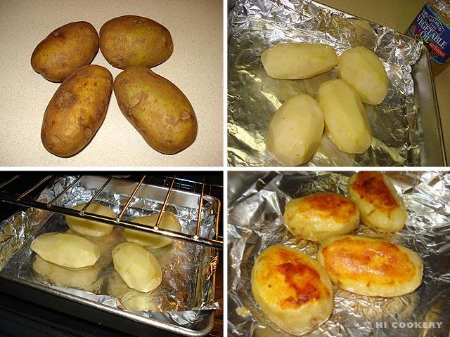 Oven Roasted Potates