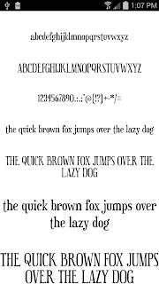 Fonts for FlipFont 50 #9 screenshot 00
