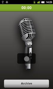 Voice SMS(MSS) - voice2voice screenshot 1