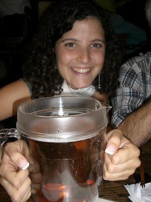 mucha cerveza...