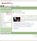 Yahoo! Mail Front