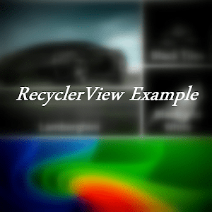 RecyclerView Tutorial Quasar