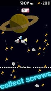 FLAT-galaxy- space travel game screenshot 8