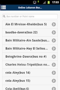 Lebanon buses screenshot 0