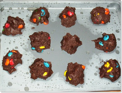 M&M Chocolate Cookies2