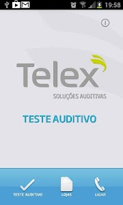 Teste Auditivo – Telex screenshot 0