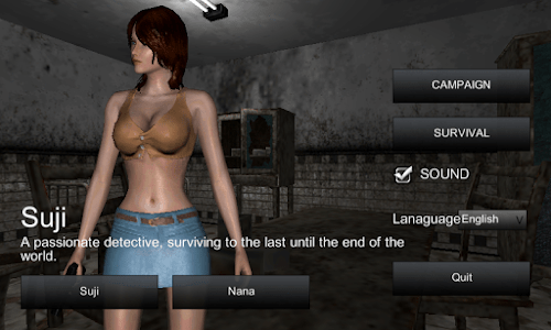 The Girl, Enclosed Zombie screenshot 0
