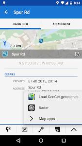 Locus - addon GeoGet Database screenshot 2