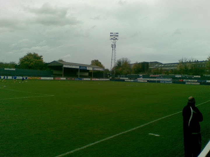 The pitch (GH to the right)