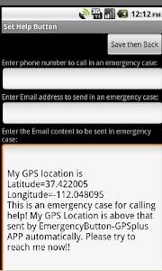 an Emergency Button GPS+ screenshot 1