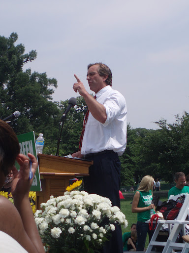 RFK Jr. at Green Our Vaccines 2008. Photo by elizabeth cary