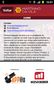 Sambabook Martinho da Vila screenshot 4