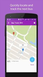 Bus Track: NYC screenshot 2