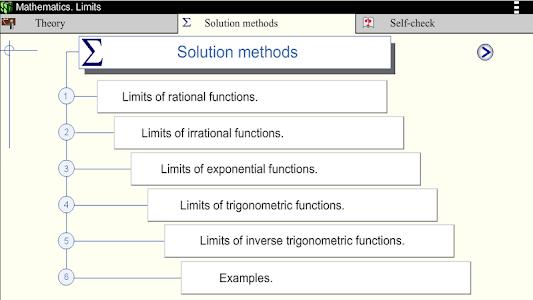 Math.Limits screenshot 9